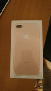 Brand New IPhone 7 plus 126GB Rose gold Underwood Logan Area Preview