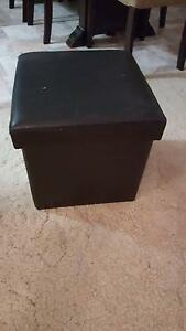 2 x bedside tables/ faux leather boxes Bracken Ridge Brisbane North East Preview