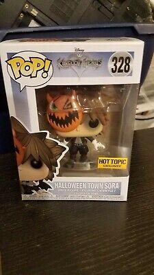 Funko POP! Games ~ HALLOWEEN TOWN SORA EXCLUSIVE VINYL FIGURE ~ Hot Topic - Pop Halloween Games