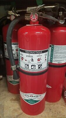 Amerex 398 Fire Extinguisher 2a10bc Halotron 15-12 Lb. 21-78h