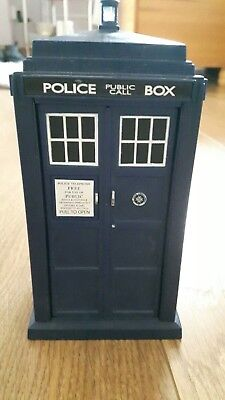 Doctor Who Spin and Fly TARDIS: 11th Dr Version, Electronic Light & Sounds Toy