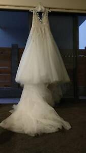 Wedding Dress Hayley Paige Leah Gown Ivory Incl Veil Wedding