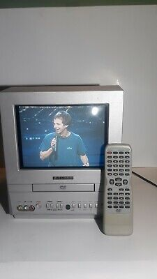 Sylvania TV DVD Combo Model 6509DD With Remote Pre-Owned Tested Works Good
