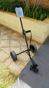 Golf cart / golf trolley black