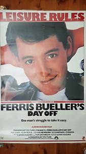Movie poster -  Ferris Bueller's Day Off Sydney City Inner Sydney Preview