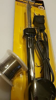 New 110v 30w Welding Soldering Iron Heat Gun Tool And Roll Of Solder Wire