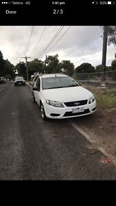 2010 Ford Falcon Alloy Tray LPG 3 Seater Ute Cab Chassis