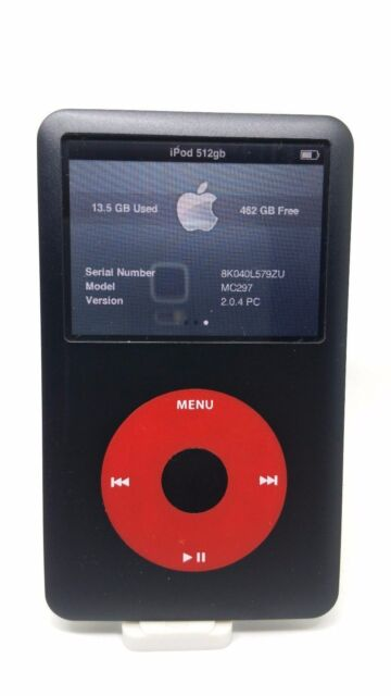 Refurbished Apple iPod Classic 7thGen 512GB iFlash SDXC U2 Special Edition MC297