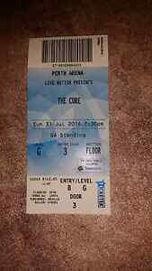 The Cure ticket general admission Dianella Stirling Area Preview