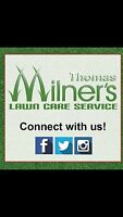 Milners lawn care service. Grass cutting . Lawn care