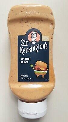 Sir Kensington's Mayonnaise, Special Sauce (10/2021) Gluten