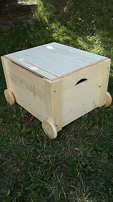 Spielkiste Spielzeugkiste Holztruhe Holzkiste Wäschetruhe Truhe Kiste mit Deckel