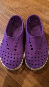 Girls Native shoes size 10