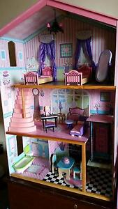 Doll House - Wooden with furniture