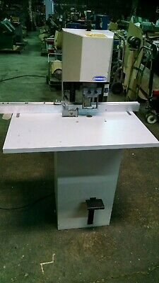 Challenge Model Jf Single Spindle Paper Drill 14 Hp 115v Single Phase