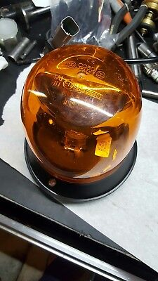 Cobo 35.0137 Amber Beacon Light Rotating  12v. Bx80