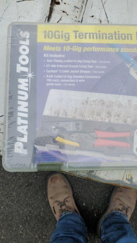 *NEW Platinum Tools 90170 10Gig Termination Kit