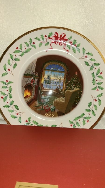 Lenox 2009 Porcelain Holiday Collector Plate