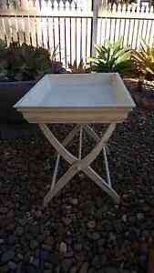 Butlers tray table with stand, good condition. Ascot Brisbane North East Preview