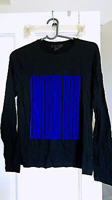 Alexander wang Brand New Long Sleeve Barcode Shirt-women- Petite S