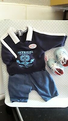 BABY BORN OUTFIT FOR BOY DOLL (BRAND NEW), used for sale  Shipping to Ireland