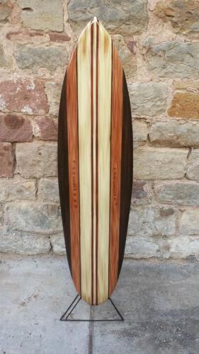 SU 130 N4 / Deko Surfboard 130 cm aus Holz, Retro Surfbrett Board surfen vintage