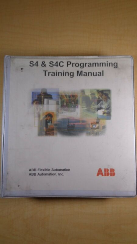 ABB Flexible Automation S4 S4C Programming Training Manual 8D B1