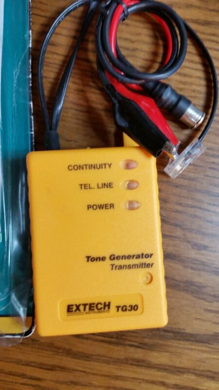 Extech Wire Tracer Kit TG30 Tone Generatorwithout probe