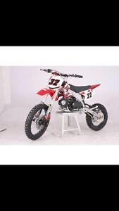Brand new in box 125cc pit bike