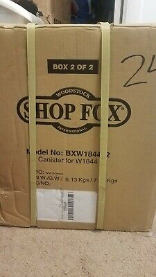 Woodstock Shop Fox Canister Filter Only Bxw184402 For W1844 Dust Collector New