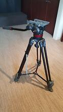 Manfrotto tripod with fluid video head. MVK502AM Buderim Maroochydore Area Preview