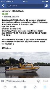 14ft sports craft boat Enfield Golden Plains Preview