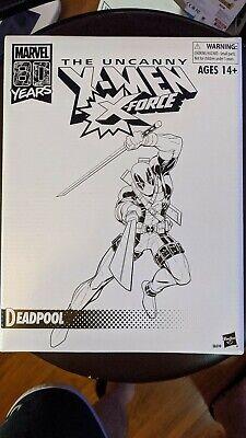 Marvel Legends DEADPOOL 80th Anniversary Retro Uncanny X-Force Marvel Comics