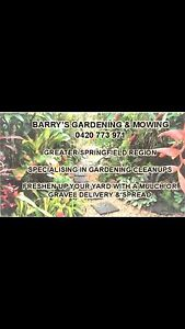 Yard maintenance and lawns mowed Springfield Ipswich City Preview