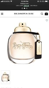 Brand new coach perfume still in wrapping