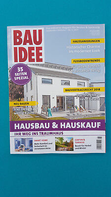 BAU IDEE SEPTEMBER OKTOBER Nr.5 2017  ungelesen 1A absolut TOP