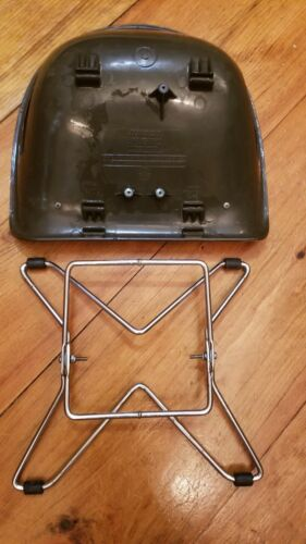 Vtg. Mid Century Costco Childs Eames Style Plaid Booster Chair Adjustable  - $99.00