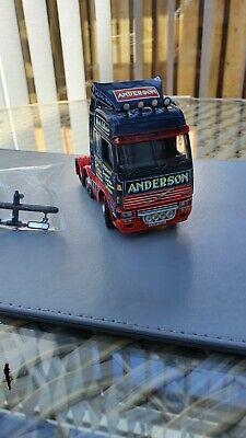 Corgi model trucks 1:50 scale ALEX ANDERSON VOLVO UNIT