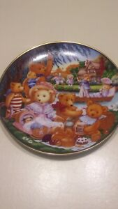 Teddy Bear Picnic Collector Plate