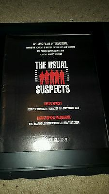 The Usual Suspects Rare Original Best Director Oscars Promo Poster Ad Framed! (Best Poster Directors Posters)