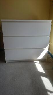 ***SOLD****  Drawer chest + Bookcase Unit Brunswick West Moreland Area Preview