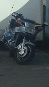 1985 Honda gold wing  with trailer hitch