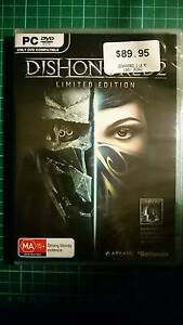 Dishonoured 2 Limited Edition PC Sealed Earlwood Canterbury Area Preview