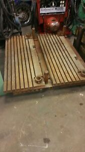 T Slotted Fixture Table