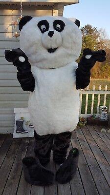 Panda Costume Mascot (Mascot Costume Giant Panda Paws Head Body Feet Copyright Free Custom)
