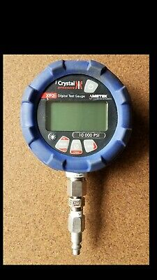 Used Ametekcrystal Engineering Xp2i Digital Pressure Gauge 10000 Psi
