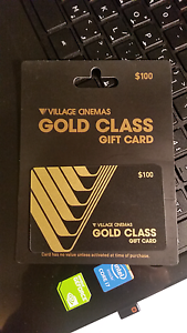 Gold Class $100 card for $85 Mount Waverley Monash Area Preview