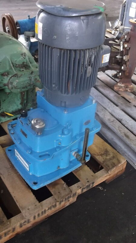 Chemineer Gear Mixer 2gtd Vertical Motor Input Rated Approx 10hp