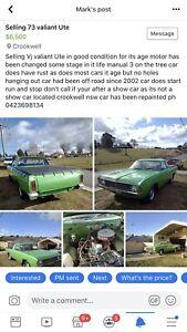 Chrysler Valiant For Sale in Sydney Region, NSW – Gumtree Cars