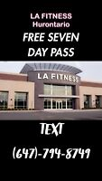 GREAT DEAL AT LA FITNESS